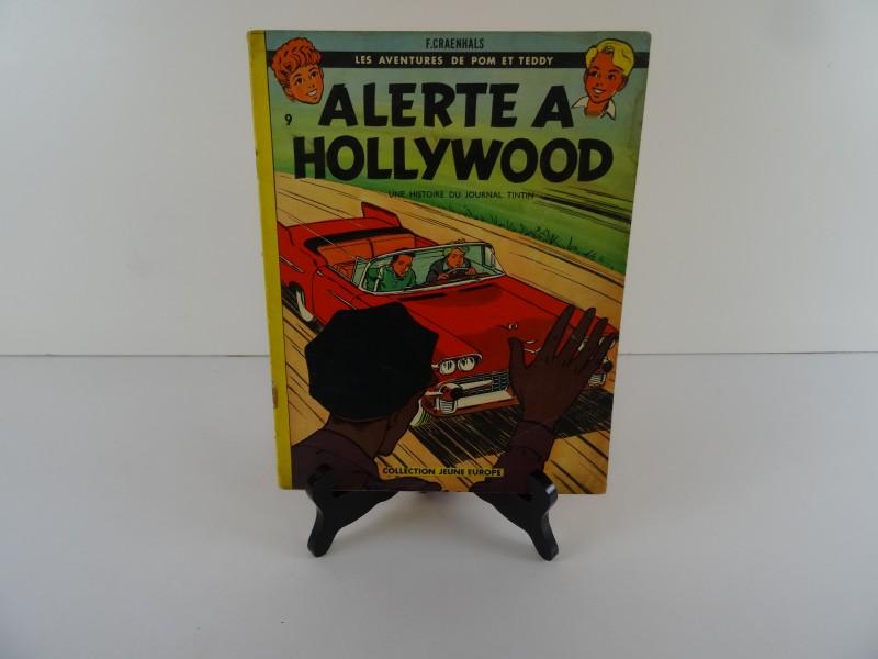 Pom et Teddy - Alerte a Hollywood - sc - 1e druk (1961)