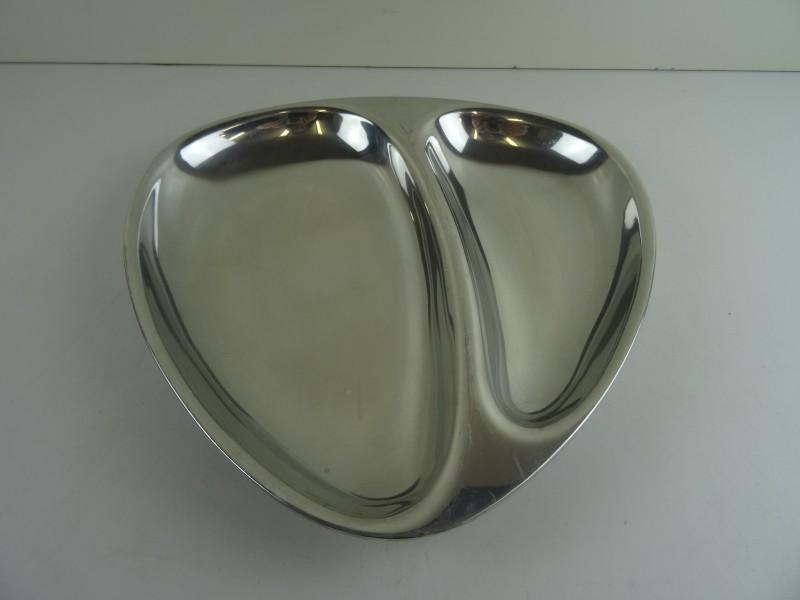 Dansk design: schaal stainless steel