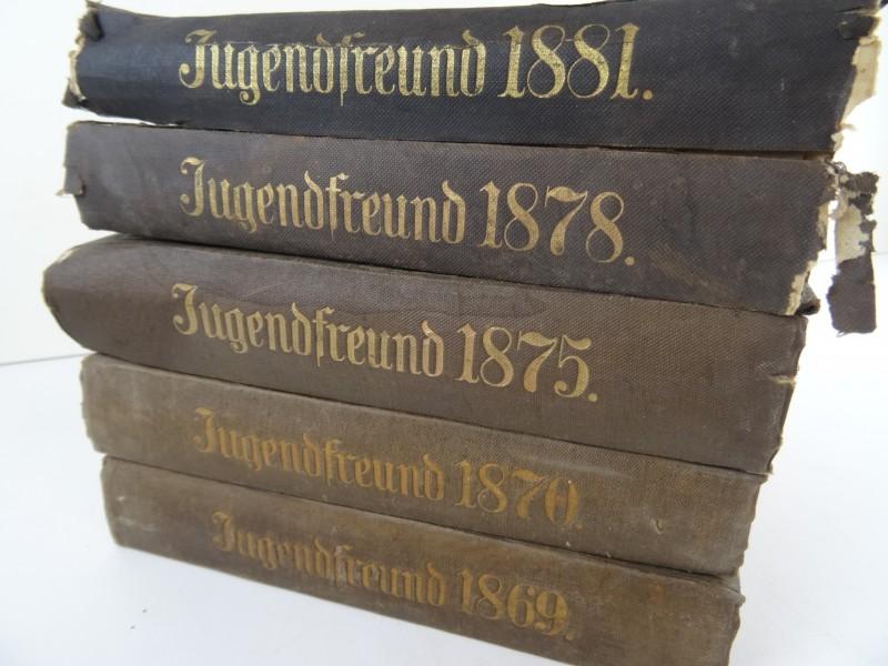 Franz Hoffman: Der Neue Deutsche Jugendfreund 5 delen 19e eeuw