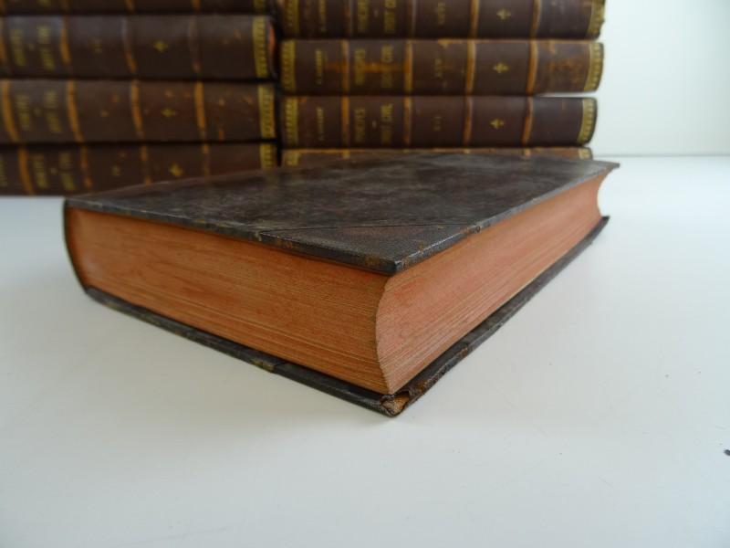 F. Laurent: 10 delen (van de 33) van het werk Principes de droit civil 1878