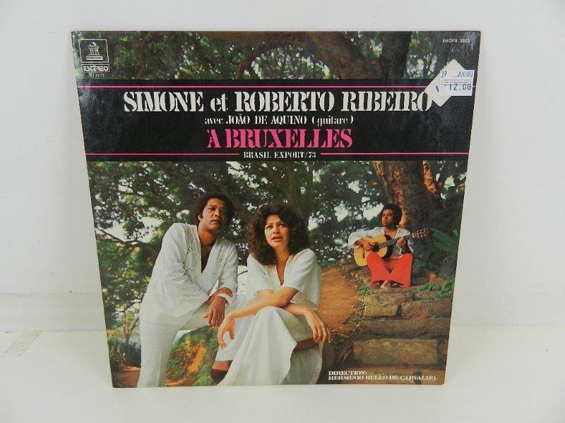 LP Simone (3) Et Roberto Ribeiro – A Bruxelles Brasil Export 73