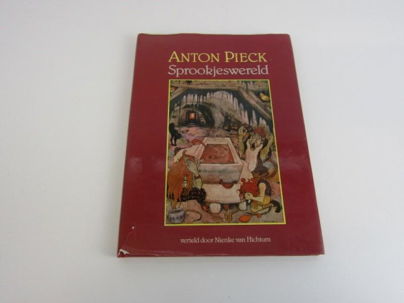 Kunstboek, Anton Pieck, Sprookjeswereld, 1987