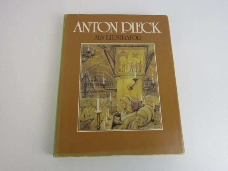 Kunstboek, Anton Pieck als Illustrator,  Max Pieck, 1984