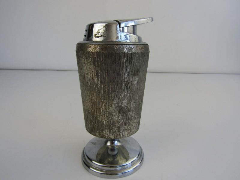 Zilverkleurige Vintage Tafelaansteker