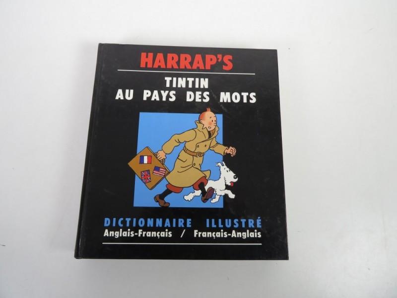 Boek - Tintin au pays des mots