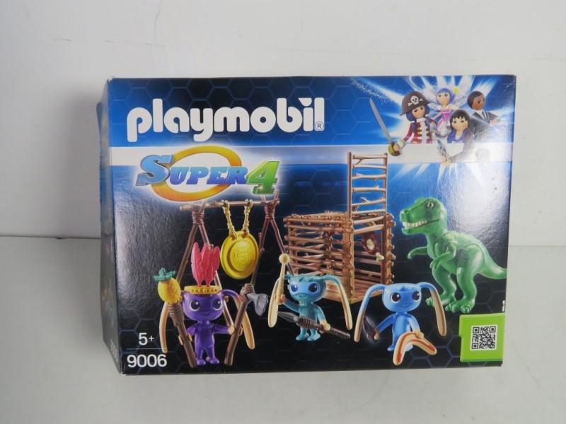 Playmobil 9006- Alienkrijgers met T-rex