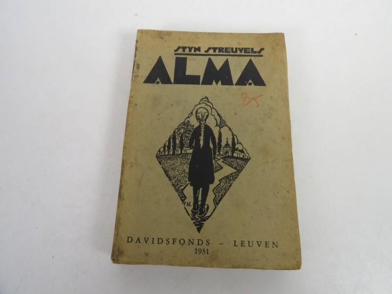 Boek - Stijn Streuvels - Alma