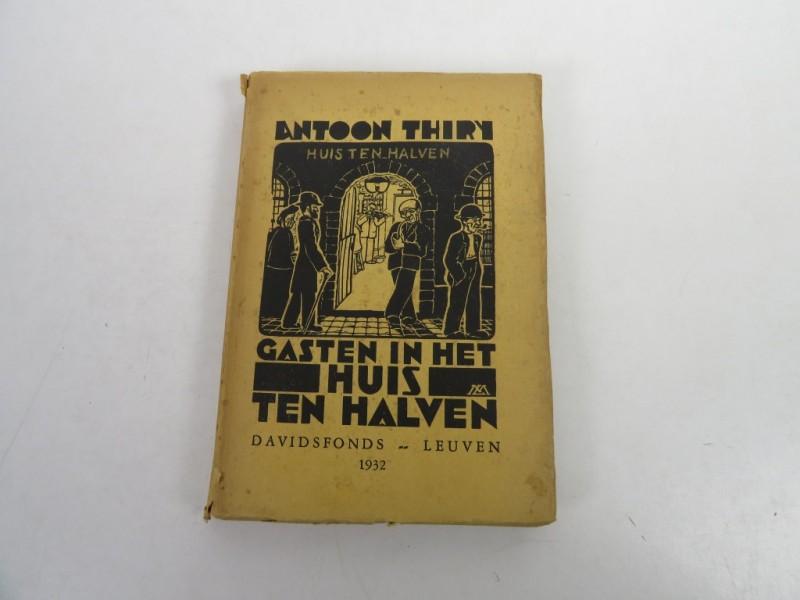 Boek - Antoon Thiry - Gasten in het huis ten halven
