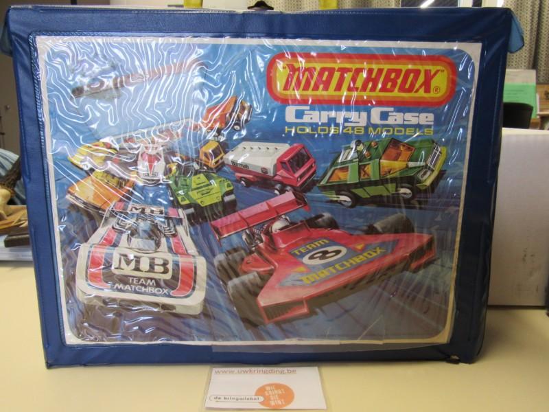 Collector's item: vintage carry case 1975 - Matchbox
