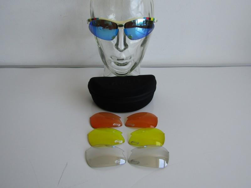 Sportbril + Brillendoos en Extra glazen: BBB Select, Quick-Step