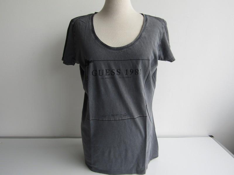 T-Shirt: Guess, Los Angeles, Maat L