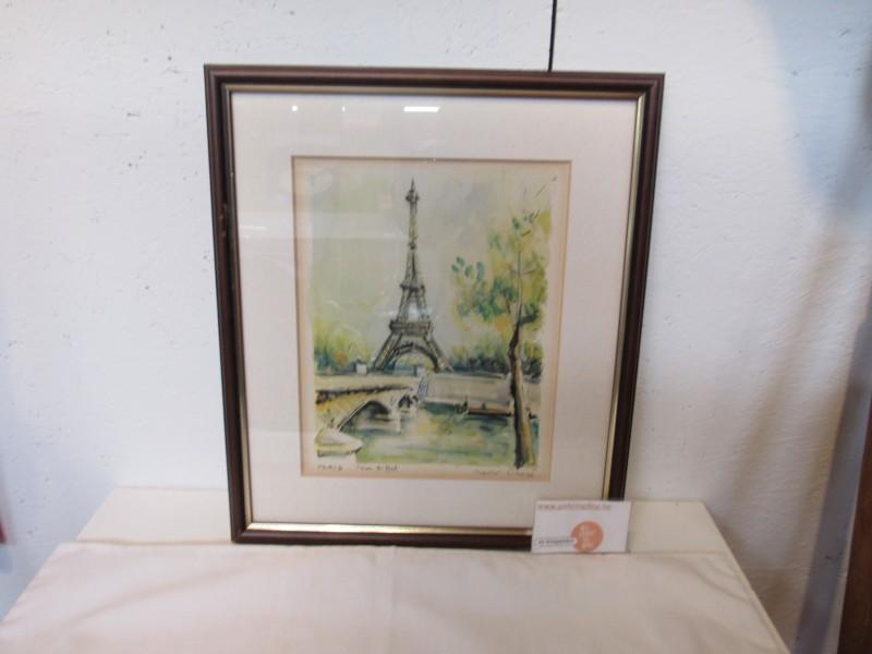Paris - Tour Eiffel van Marius Girard