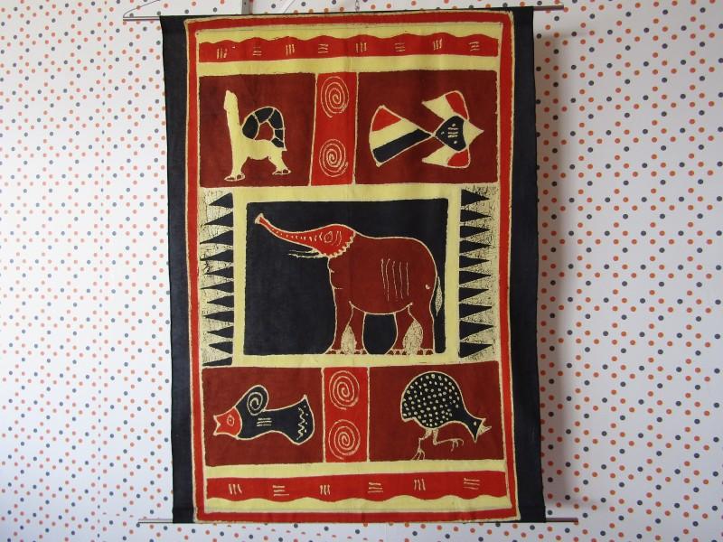 Schilderij / wanddecoratie: Afrikaanse Kunst