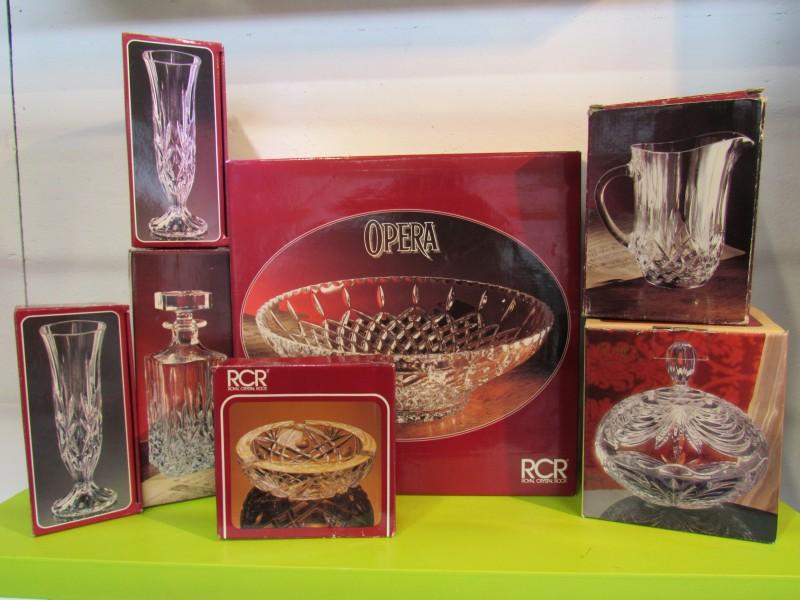 Kristal van RCR Italy - lot 2 - 7 items