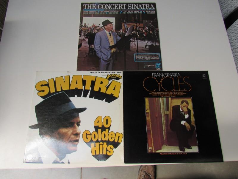4 x Vinyl langspeelplaat Frank Sinatra
