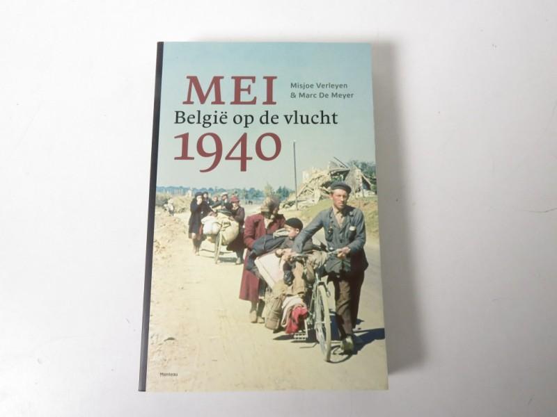 Boek - Mei 1940 - België op de vlucht