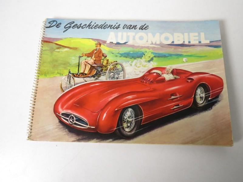 Boek - De geschiedenis van de automobiel
