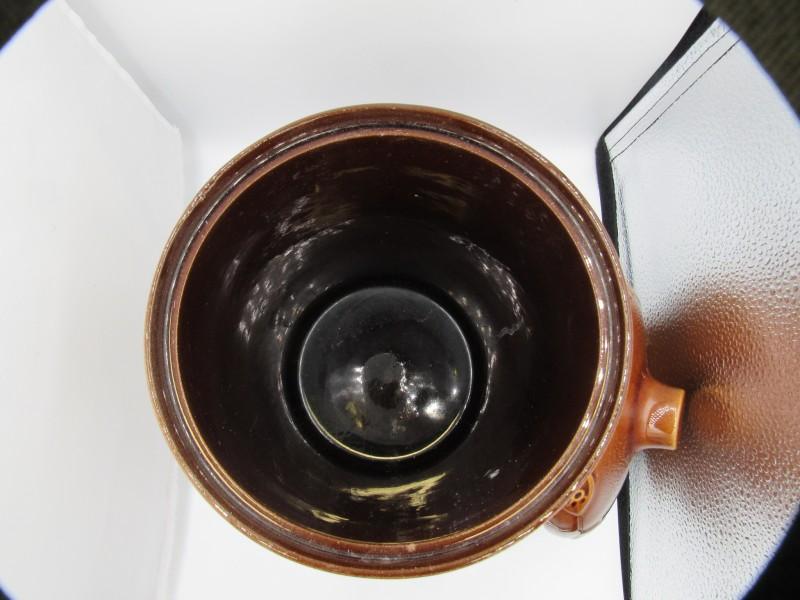 Vintage Rumptopf met deksel