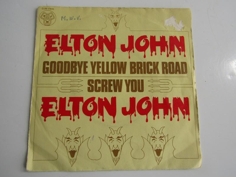 Single, Elton John: Goodbye Yellow Brick Road, 1973