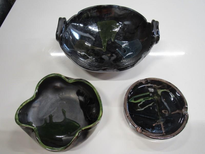 Thomas Buxo keramische werken ( 3 stuks )