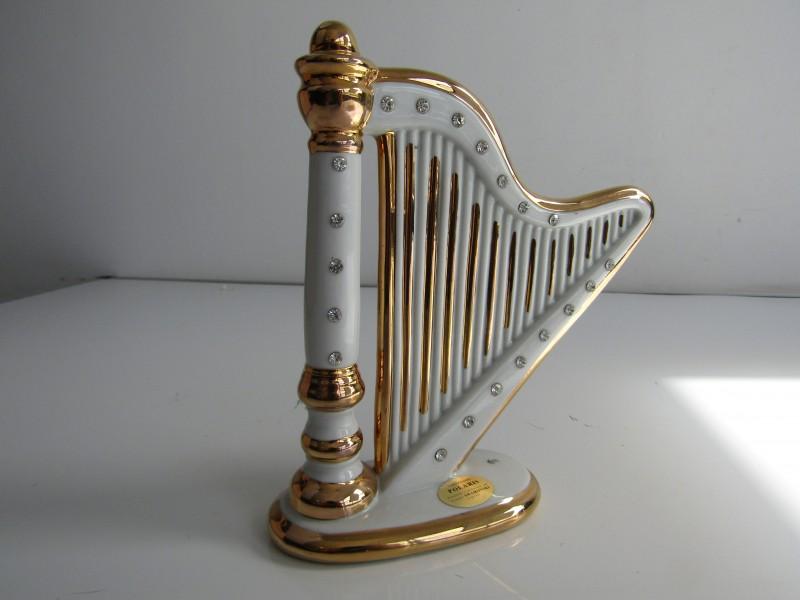 Harp met Swarovski Kristallen: Capodimonte, Polaris, Italy