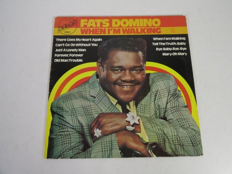 Lp - Fats Domino - When i'm walking