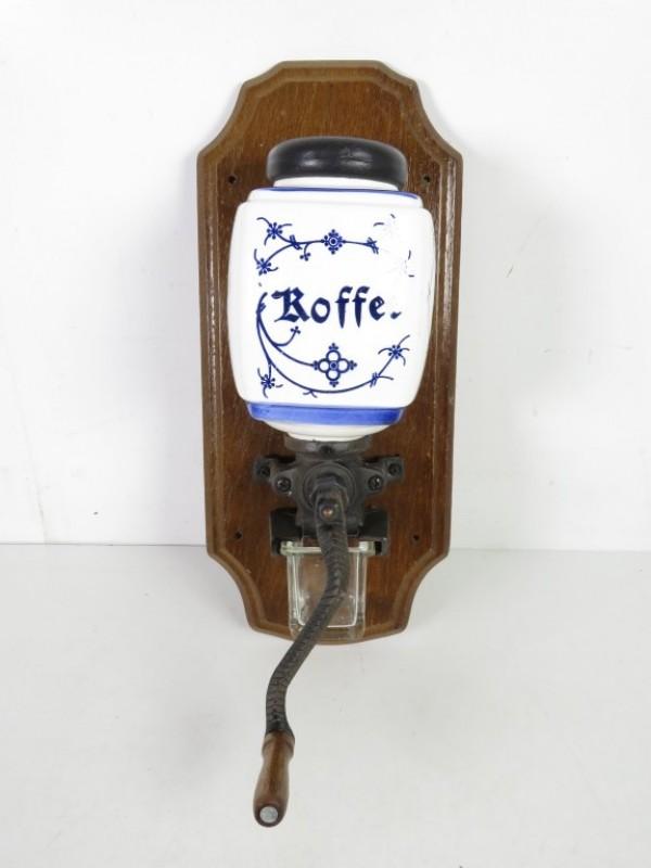 Vintage muur koffiemolen