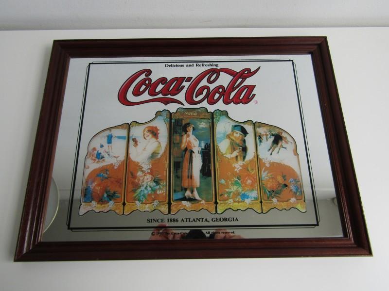 Vintage Reclamespiegel: Coca Cola, 1993