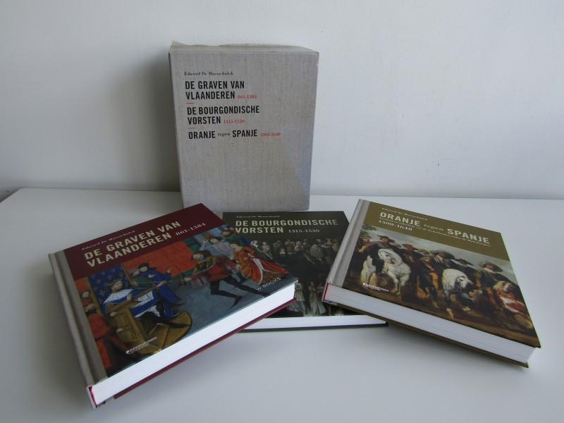 3 Geschiedenis Boeken in Foedraal: Edward De Maesschalck