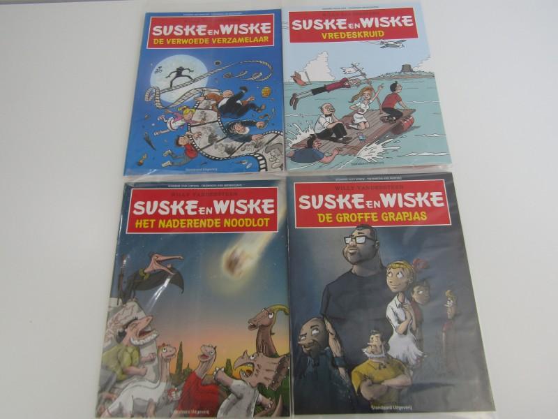 4 Exclusieve Suske en Wiske Albums van Bekende Vlamingen, 2015