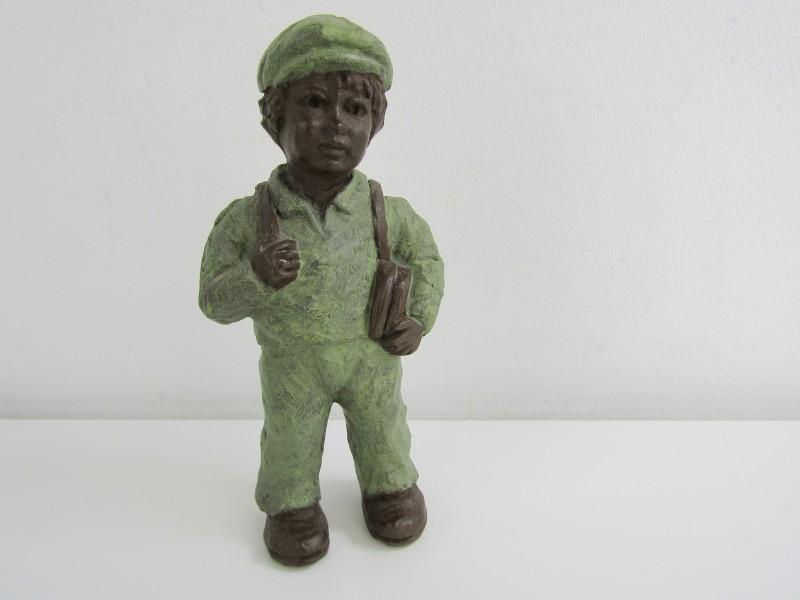 Keramieken Sculpture met Bronscoating: Geert Kunen