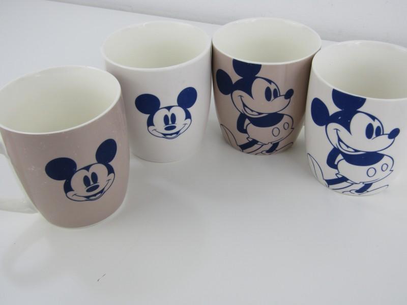 4 Mickey Mouse Tassen: Disney 2014