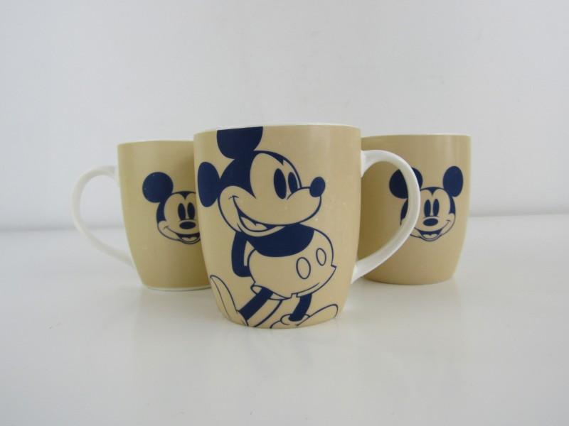 3 Mickey Mouse Tassen, Disney 2014