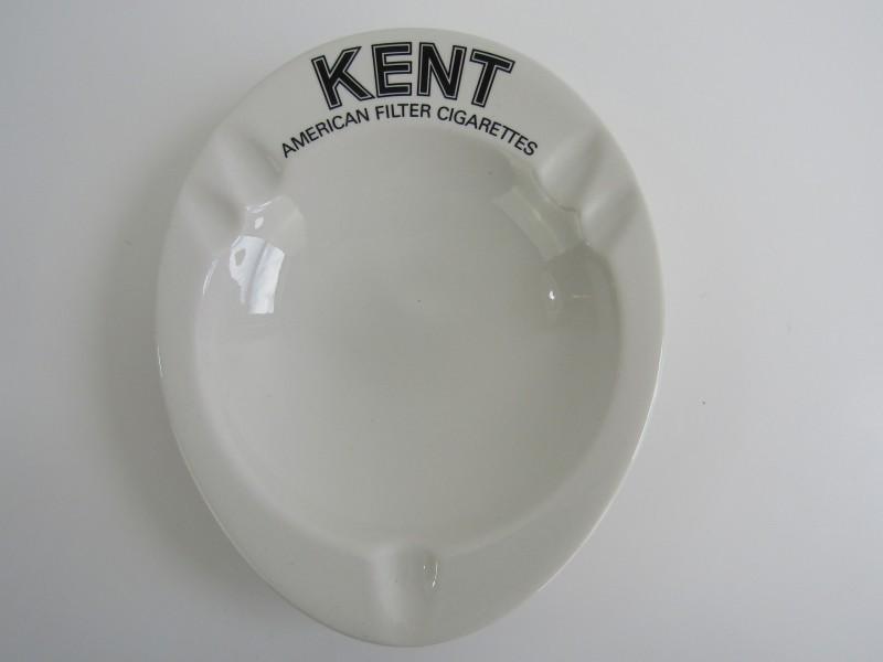 Retro Asbak: Kent Cigarettes, Villeroy & Boch