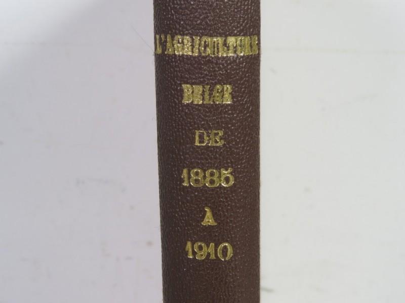 Boek - L'agriculture Belge de 1885 a 1910