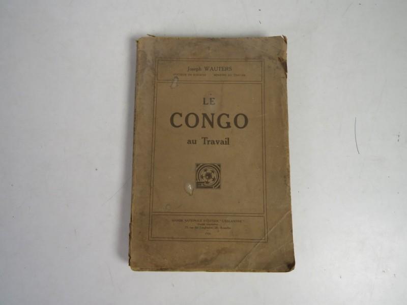 Boek - Le Congo au travaille