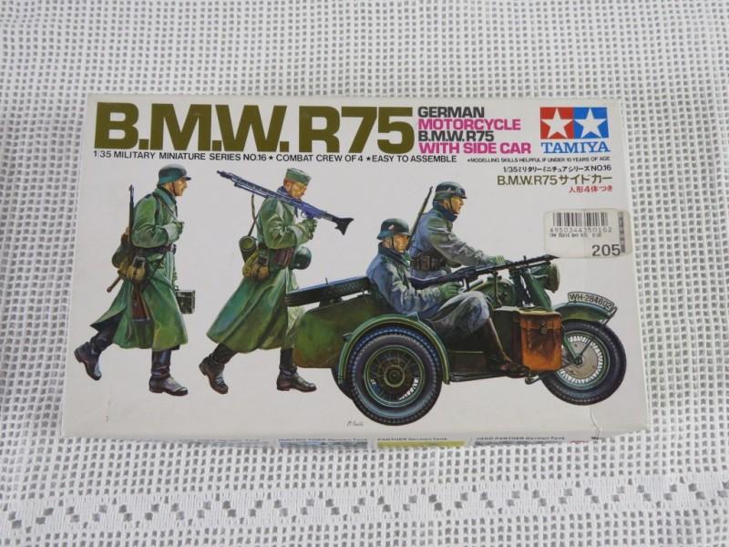 Modelbouw Tamiya - BMW R75