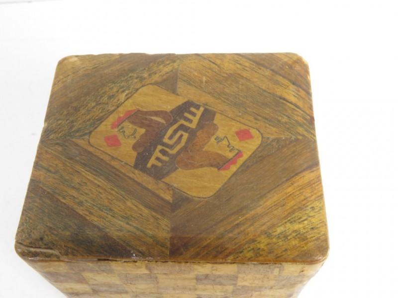 Vintage kaartenhouder