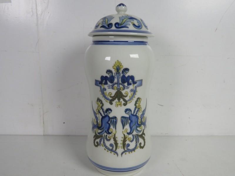Porseleinen pot uit Portugal