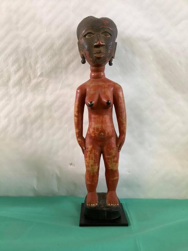Afrikaans beeldje van een naakte vrouw