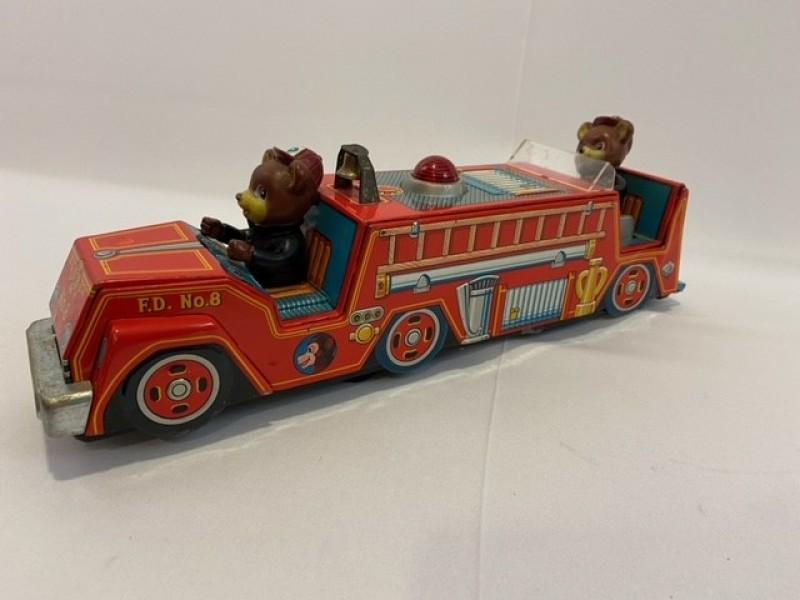 Vintage tinnen brandweerwagen (JAPAN)
