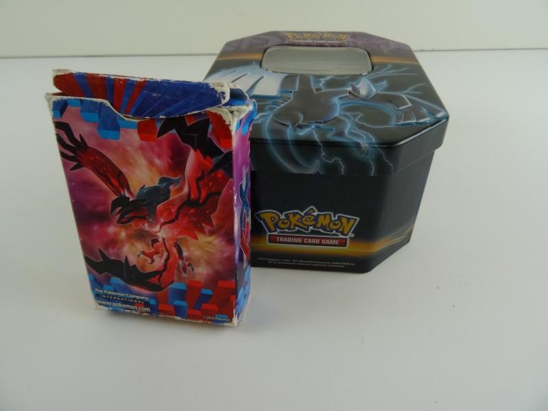 Pokémonkaarten set in box