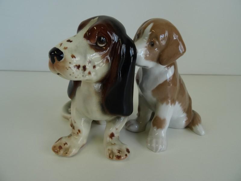 porseleinen hondjes