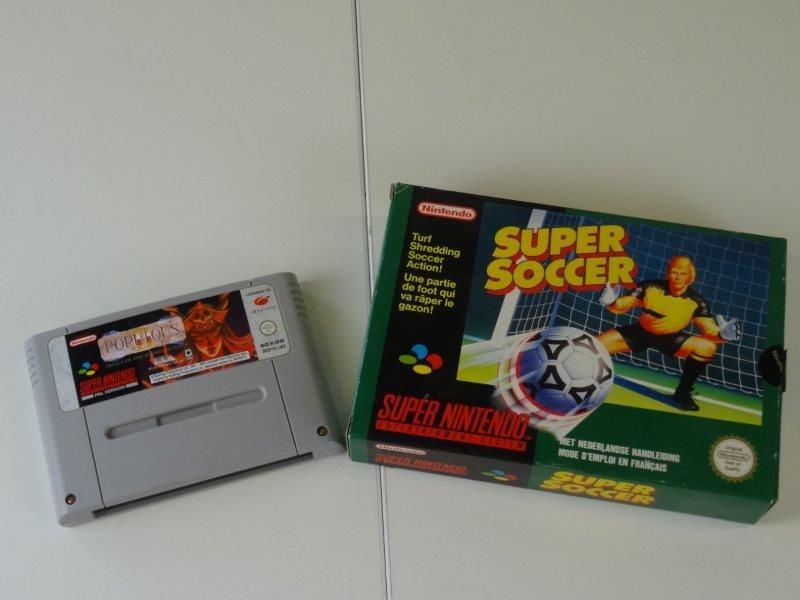 Lot 2 Super Nintendo games