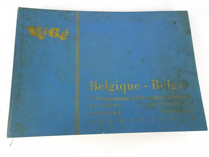 Vintage prentenboek (België Toerisme Archeologie)