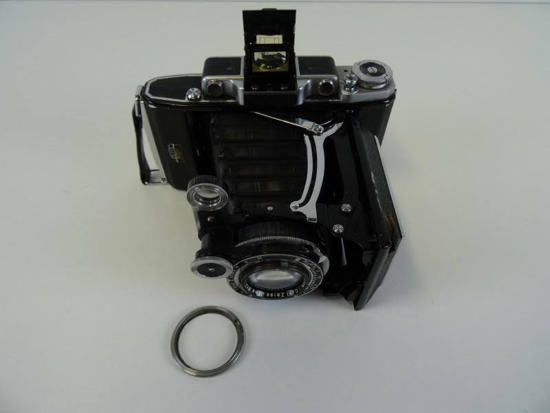 vintage Zeiss Ikon Super Ikonta 531/2 model Tessar 3.5 vouwcamera
