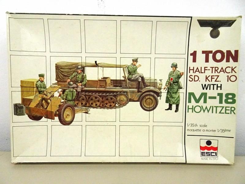 Militair modelbouwdoos