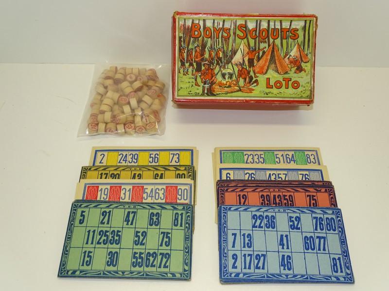 """Retro Lottospel """"Boys Scouts"""""""