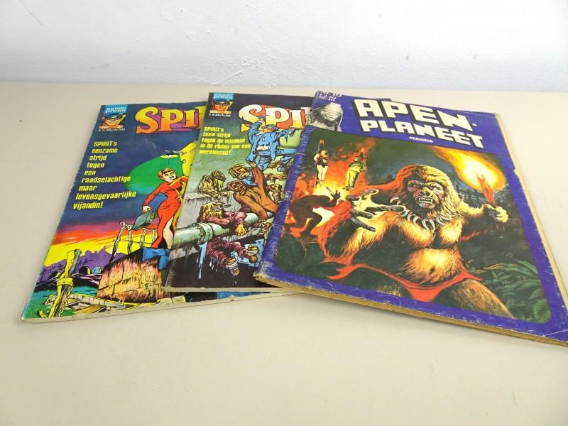 3 Helden strips