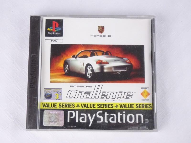 PS1 spel: Porsche Challenge
